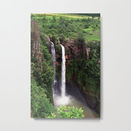 """Mac Mac Falls"" by ICA PAVON Metal Print"