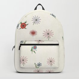 The gift of flowering blooms Backpack