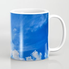 blue cloudy sky std Coffee Mug