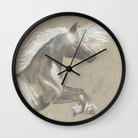 gypsy Wall Clocks featuring Gypsy by Marion arts