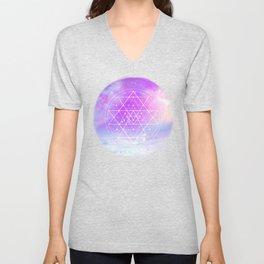 Sacred Geometry (Sri Yantra) Unisex V-Neck