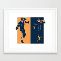 cyclops Framed Art Prints featuring Cyclops by Young Jake