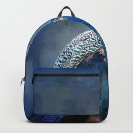 Peacock Blues Clues Backpack