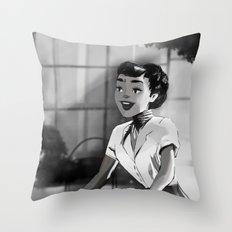 Anya Smith - Roman Holiday (Audrey Hepburn) Throw Pillow