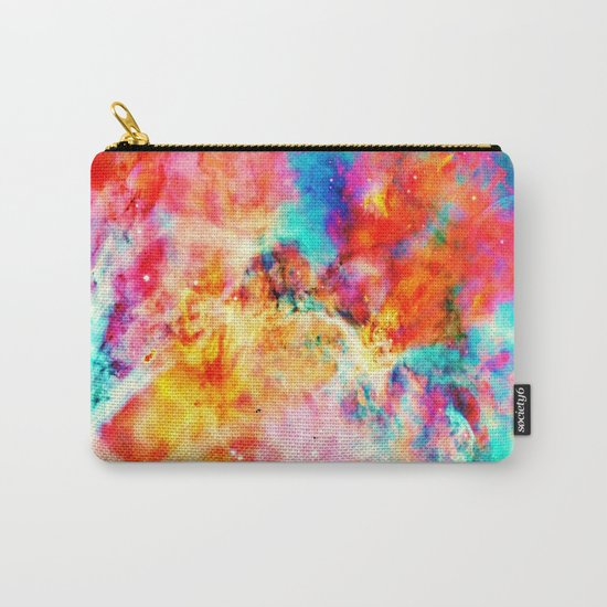 Colorful Abstract Nebula Carry-All Pouch