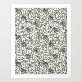 Joan Print- in Ivory Art Print