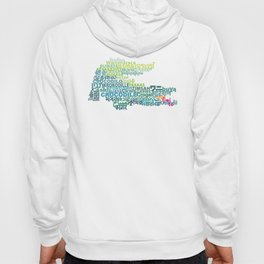 Crocodile in Different Languages Hoody