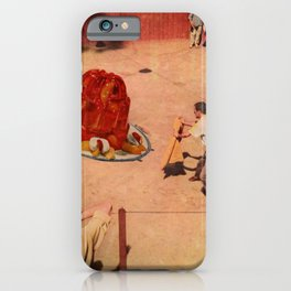 Jell-O Fighting iPhone Case