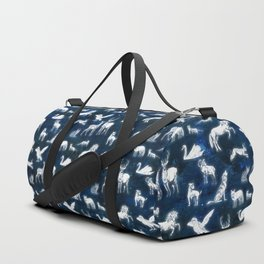 Patronus pattern Duffle Bag