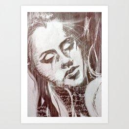 Chaotic Dreams Art Print