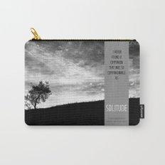 Henry David Thoreau - Solitude Carry-All Pouch
