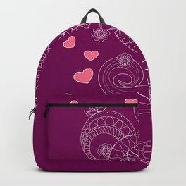 Zen cup of tea with love Backpack