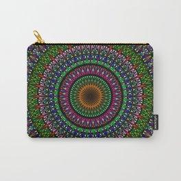 Hypnotic Church Window Mandala Carry-All Pouch