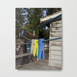 Hang your own laundry Metal Print