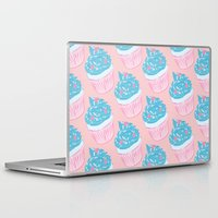 cupcake Laptop & iPad Skins featuring Cupcake by Inbeeswax