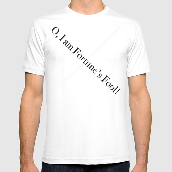 Fortune's Fool T-shirt