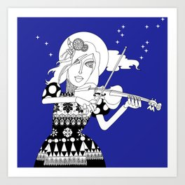 The Queen of Spades - The Sonata Art Print