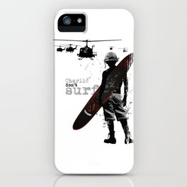 Do not surf iPhone Case