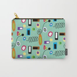 Mod Abstract Green Carry-All Pouch