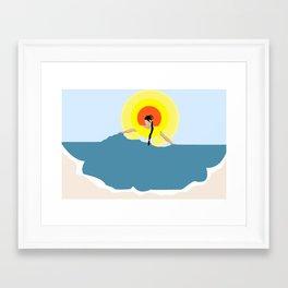 La Morena Framed Art Print