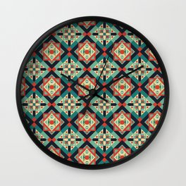 Morrocan Geometric Culture 1 Wall Clock
