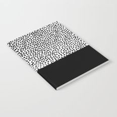 Dots and Black Notebook
