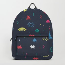 Space invader Backpack