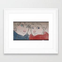 Potterlock Framed Art Print