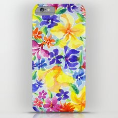 Flowers iPhone 6 Plus Slim Case