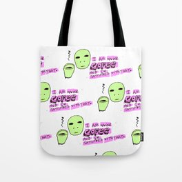 not Coffee its Cofee Tote Bag