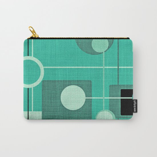 orbs and square emerald Carry-All Pouch