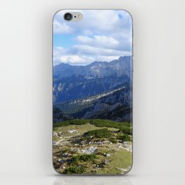 On Top of the Mountain iPhone Skin