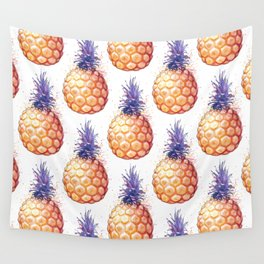 Fat Pineapple 3 Wall Tapestry