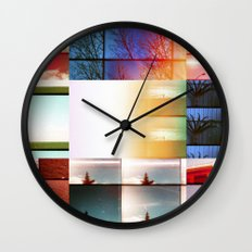 A deep desire to change the immediate present Wall Clock