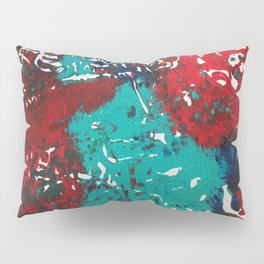 Abstracted Wolf and Kitten Pillow Sham