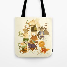 The Counting Crew Tote Bag