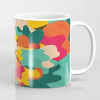 camo Mugs featuring Aloha Camo by Picomodi