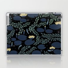 night waterlily Laptop & iPad Skin
