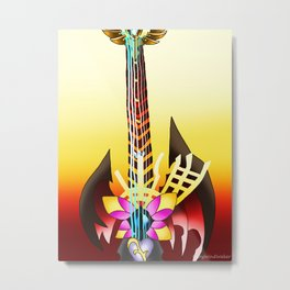 Fusion Keyblade Guitar #64 - Ultima Weapon & End of Pain Metal Print