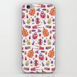 Beetle - pastel iPhone Skin