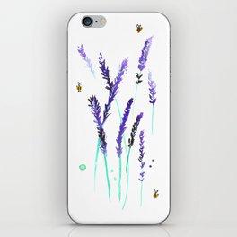 Lavender & Bees iPhone Skin