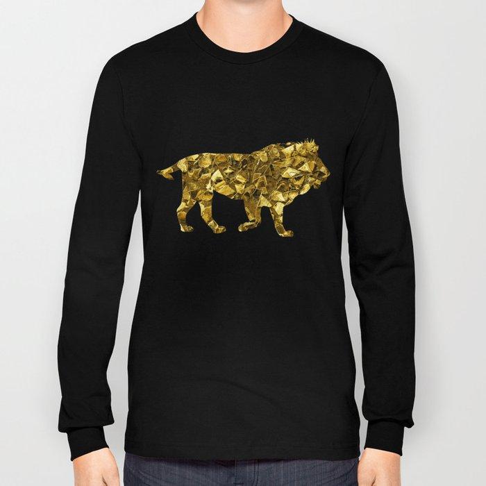 Animal Mosaic - The Lion Long Sleeve T-shirt