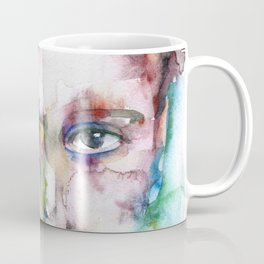 DYLAN THOMAS watercolor portrait.4 Coffee Mug