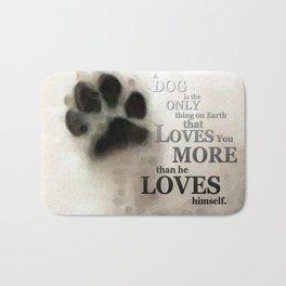 True Love - By Sharon Cummings Words By Billings Bath Mat