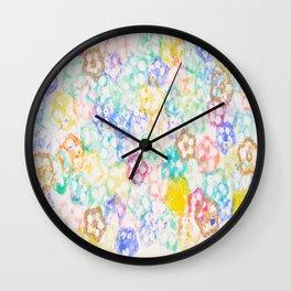 Fields of Okra Wall Clock