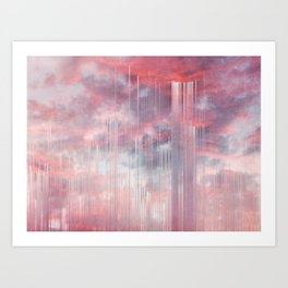 Kiss the Rain Art Print