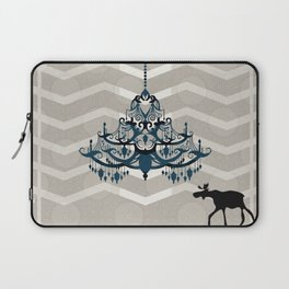 A Moose finds home Laptop Sleeve