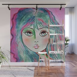THE LOOK Wall Mural