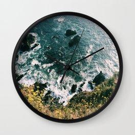 Kirk Creek, Big Sur Wall Clock