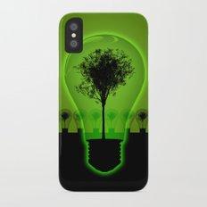 BulB Tree iPhone X Slim Case